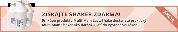 Získajte shaker zdarma!